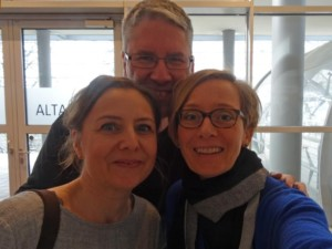 Autorenkollegen auf der Leipziger Autorenrunde