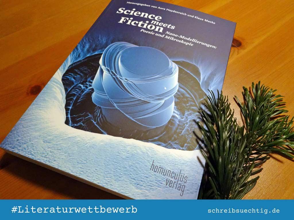 Das Buch zum Literaturwettbewerb Science meets Fiction