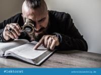 Roman überarbeiten: Lektorat und Selbstlektorat